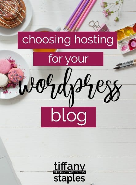 hosting your wordpress website or blog - who to choose.