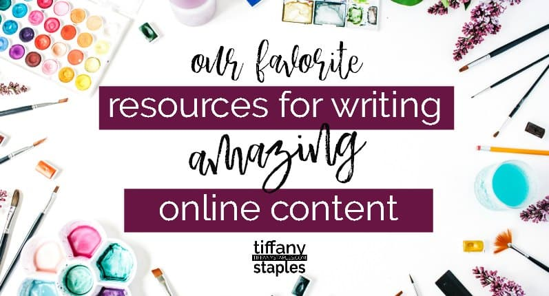 Best resources for writing amazing effective online content and copy.
