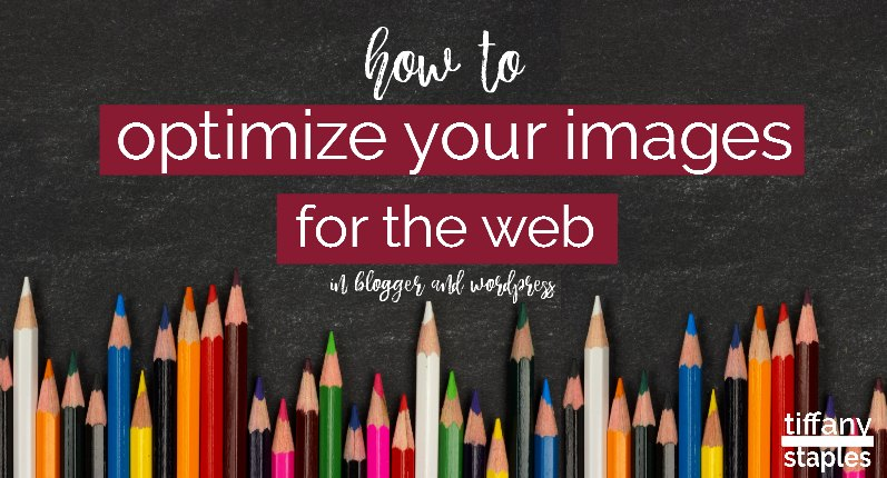 How to optimize your images for the web easy steps