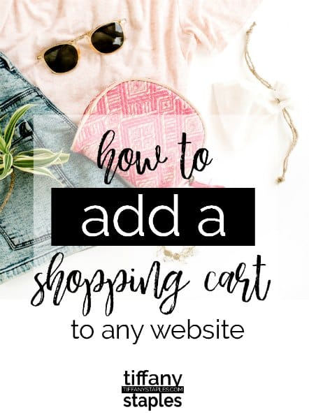How to add a shopping cart to any website including Blogger