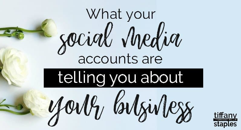 what your social media accounts reveal about your business and brand image