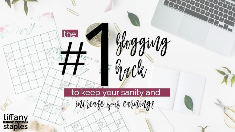 Number One Blogging Hack to Increase Earnings and Keep Your Sanity - Schedule Your Blog Posts Social Media