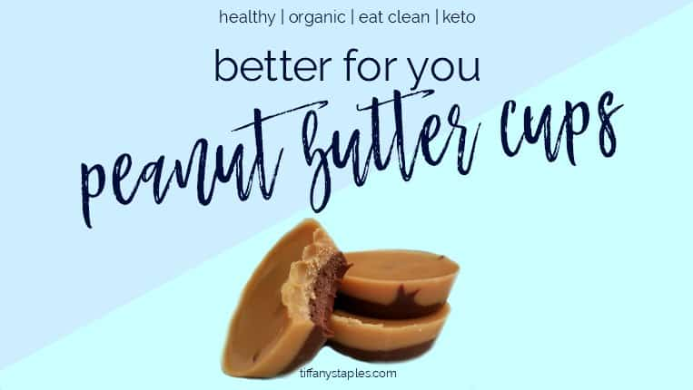 Try our better for you peanut butter cups recipe! These qualify as eat clean and keto!