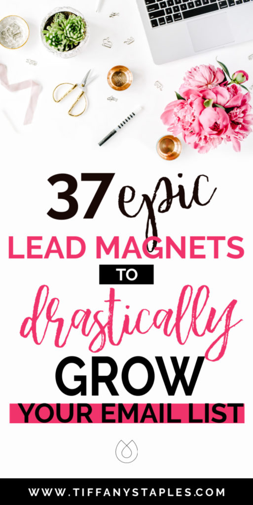 37 Epic Lead Magnet Ideas to Dramatically Increase Your Email List